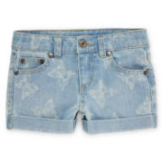Arizona Butterfly-Print Shorties - Preschool Girls 4-6x