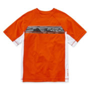 ZeroXposur® Striped Rash Guard - Boys 8-20