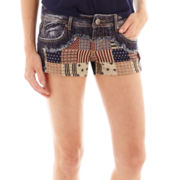 Hot Kiss Americana Denim Shorts