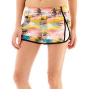 City Streets® Woven Shorts - Juniors Plus