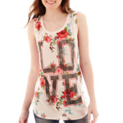 Mighty Fine Floral Tank Top