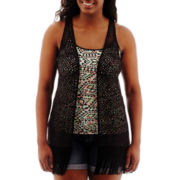 Arizona Fringe Topper Vest - Plus