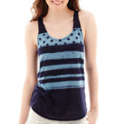 Arizona Easy Racerback Americana Tank Top
