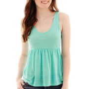 Arizona Babydoll Tank Top