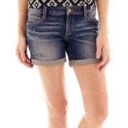 Arizona Denim Midi Shorts