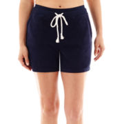 Silverwear™ French Terry Shorts - Petite