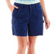 St. John's Bay® Cargo Shorts - Plus