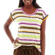 Stylus™ Short-Sleeve Striped T-Shirt