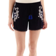 Stylus™ Embroidered Soft Shorts