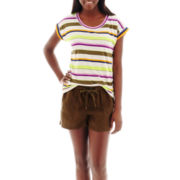 Stylus™ Striped T-Shirt or Linen Shorts