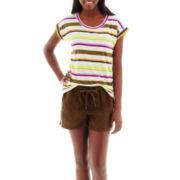 Stylus™ Striped T-Shirt or Linen Shorts