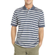Arrow® Heathered Short-Sleeve Polo