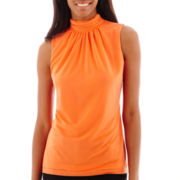 Worthington® Ruched Halter Top