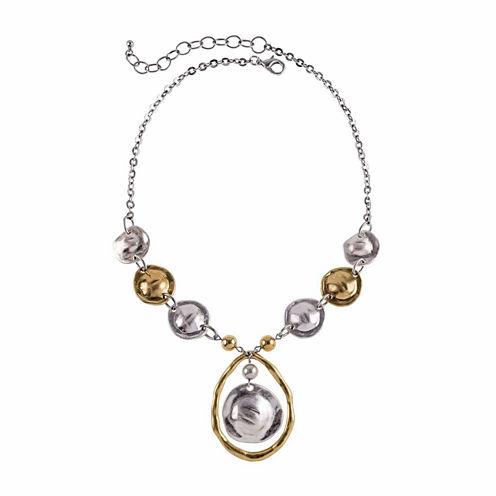 Studio By Carol Womens Pendant Necklace