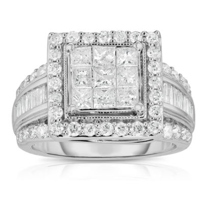 sz products engagement princess sapphire ring intricate dsc and diamond ctw deco art
