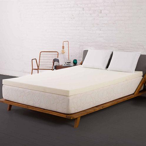 "Authentic Comfort® Biofresh® 4"" Memory Foam Mattress Topper"