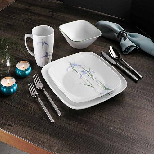 Corelle Shadow Iris 16-pc. Dinnerware Set