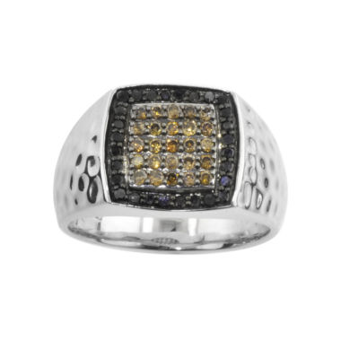 jcpenney.com | Mens ¾ CT. T.W. Champagne & Color-Enhanced Black Diamond Ring