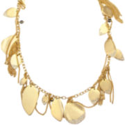 PALOMA & ELLIE Gold-Tone Leaf Statement Necklace