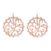 telio! by Doris Panos Amore Rose-Tone Earrings