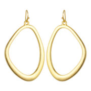 PALOMA & ELLIE Gold-Tone Freeform Hoop Earrings