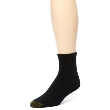 jcpenney.com | Gold Toe® 6-pk. Athletic Quarter Socks–Big & Tall