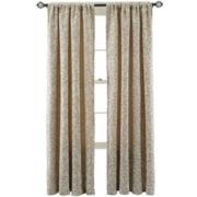 MarthaWindow™ Morning Tide Rod-Pocket Curtain Panel