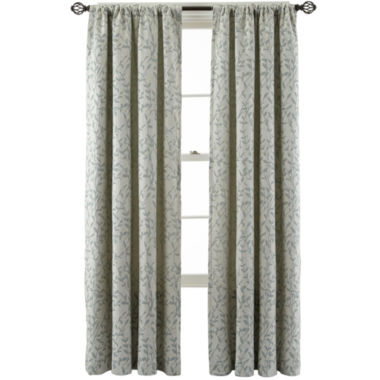 jcpenney.com | MarthaWindow™ Morning Tide Rod-Pocket Curtain Panel