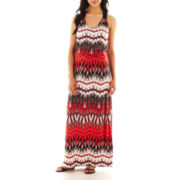 Bisou Bisou® Racerback Print Maxi Dress