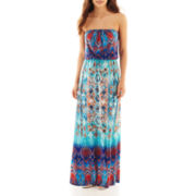 Bisou Bisou® Strapless Blouson Maxi Dress