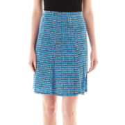 Liz Claiborne Gored Skirt - Tall
