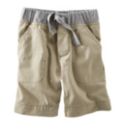 OshKosh B'gosh® Contrast-Waist Canvas Short - Boys 5-7