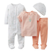 Carter's® Balloon 4-pc. Layette Set - Girls Preemie