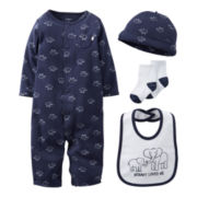 Carter's® Elephant 4-pc. Layette Set - Boys newborn-6m