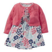 Carter's® Floral Dress and Cardigan Set - Girls newborn-12m