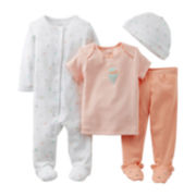 Carter's® Balloon 4-pc. Layette Set - Girls newborn-9m