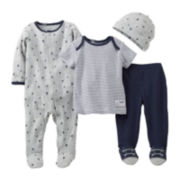Carter's® Sailboat 4-pc. Layette Set - Boys newborn-6m