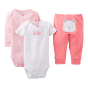 Carter's® Puppy 3-pc. Turn-Me-Around Set - Girls newborn-24m