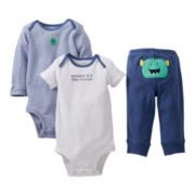 Carter's® Monster 3-pc. Turn-Me-Around Set - Boys newborn-24m