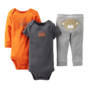 Carter's® Monkey 3-pc. Turn-Me-Around Set - Boys newborn-24m