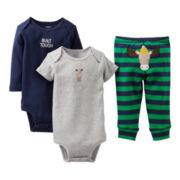 Carter's® Moose 3-pc. Turn-Me-Around Set - Boys newborn-24m