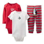 Carter's® Penguin 3-pc. Turn-Me-Around Set - Boys newborn-24m