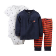 Carter's® Sailboat 3-pc. Set - Boys newborn-12m
