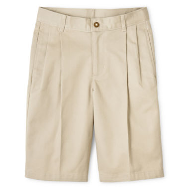 jcpenney.com | IZOD® Pleated Shorts - Preschool Boys 4-7 and Slim
