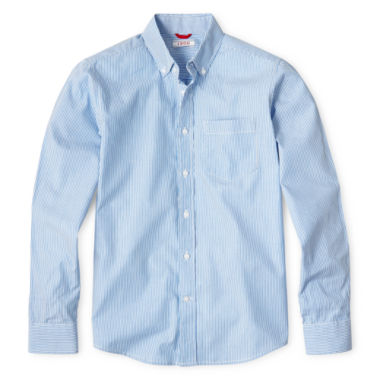 jcpenney.com | IZOD® Long Sleeve Oxford Shirt - Boys 8-20 and Husky