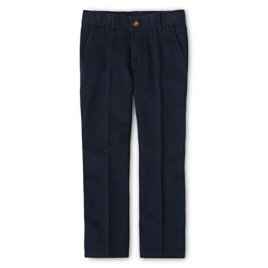 jcpenney.com | IZOD® Flat Front Twill Pants - Boys 8-20, Slim and Husky