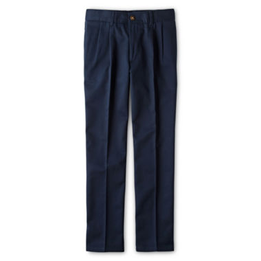 jcpenney.com | IZOD® Pleated Twill Pants - Boys 8-20, Slim and Husky