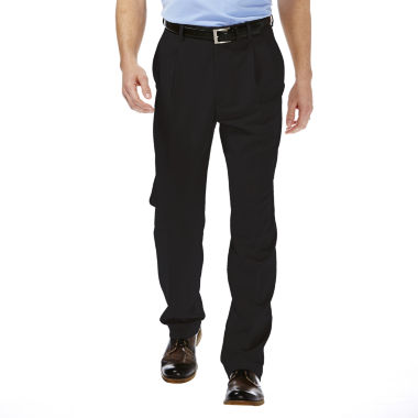 jcpenney.com | Haggar® Cool 18® Classic-Fit Pleated Pants