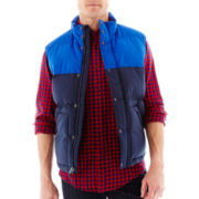 St. John's Bay® Colorblock Puffer Vest