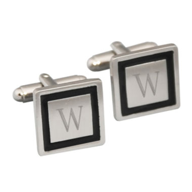 jcpenney.com | Engravable Black Cufflinks